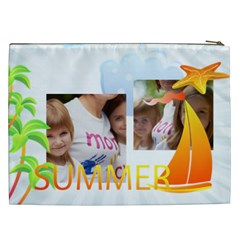 Kids, Love, Fun, Happy, Holiday,child, Love By Jacob   Cosmetic Bag (xxl)   B8676ie2zsto   Www Artscow Com Back