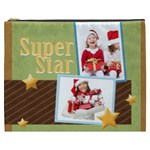 kids, love, fun, happy, holiday,child, love - Cosmetic Bag (XXXL)