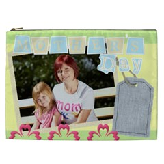 Mother s Day By Jacob   Cosmetic Bag (xxl)   762ll5qq99aw   Www Artscow Com Front