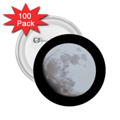 Moon 100 Pack Regular Button (round) by LigerTees
