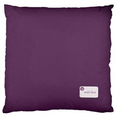 Purple Love By Zornitza   Large Cushion Case (two Sides)   Hkvh8q3nfsrb   Www Artscow Com Back