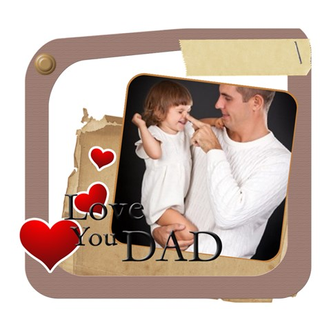 Fathers Day By Jo Jo   Deluxe Canvas 14  X 11  (stretched)   Qcm0nvxmm8ej   Www Artscow Com 14  x 11  x 1.5  Stretched Canvas