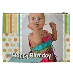 Happy Birthday By Man   Cosmetic Bag (xxl)   G5l7peuatwj6   Www Artscow Com Back