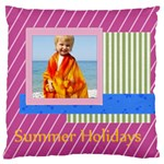 sea summer - Large Cushion Case (Two Sides)
