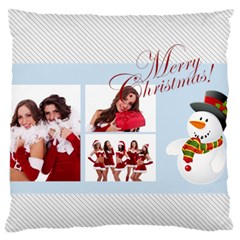 Merry Christmas, Happy New Year, Xmas By Angena Jolin   Large Cushion Case (two Sides)   6pvq9mjy5xad   Www Artscow Com Front