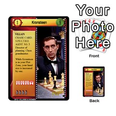 James Bond Ccg 2012: Villains And Women Part 2 By Geni Palladin   Multi Purpose Cards (rectangle)   Xr5p44zjv0m7   Www Artscow Com Front 8