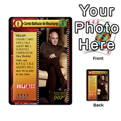 James Bond Ccg 2012: Villains And Women Part 2 By Geni Palladin   Multi Purpose Cards (rectangle)   Xr5p44zjv0m7   Www Artscow Com Front 9