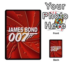 James Bond Ccg 2012: Villains And Women Part 2 By Geni Palladin   Multi Purpose Cards (rectangle)   Xr5p44zjv0m7   Www Artscow Com Back 9