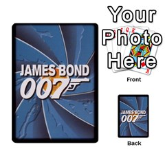 James Bond Ccg 2012: Villains And Women Part 2 By Geni Palladin   Multi Purpose Cards (rectangle)   Xr5p44zjv0m7   Www Artscow Com Back 44