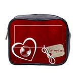 For my Love mini toiletries bag (two sides)