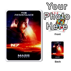 Resistance Mass By Pixatintes   Multi Purpose Cards (rectangle)   Fkvco5clfwlz   Www Artscow Com Back 8