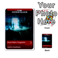 Resistance Mass By Pixatintes   Multi Purpose Cards (rectangle)   Fkvco5clfwlz   Www Artscow Com Front 3