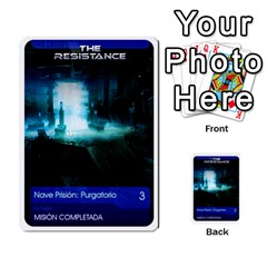 Resistance Mass By Pixatintes   Multi Purpose Cards (rectangle)   Fkvco5clfwlz   Www Artscow Com Back 3