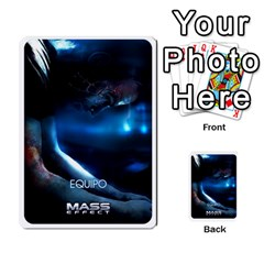 Resistance Mass By Pixatintes   Multi Purpose Cards (rectangle)   Fkvco5clfwlz   Www Artscow Com Back 30