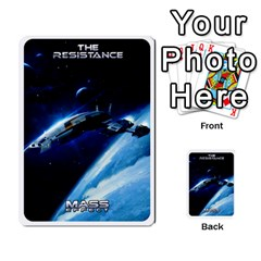 Resistance Mass By Pixatintes   Multi Purpose Cards (rectangle)   Fkvco5clfwlz   Www Artscow Com Back 44