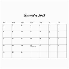 Cocktail Calendar 2013 2014 By Urvi Mehta   Wall Calendar 11  X 8 5  (18 Months)   Rvdwl7b8hsm8   Www Artscow Com Dec 2013