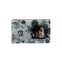 Cb S1 By Boryana Mihaylova   Cosmetic Bag (small)   Ymexzip9mvhr   Www Artscow Com Front