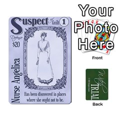 Witch Trial Deck 1 By Jim Chaney   Playing Cards 54 Designs   9u2sacftsgrg   Www Artscow Com Front - Spade2