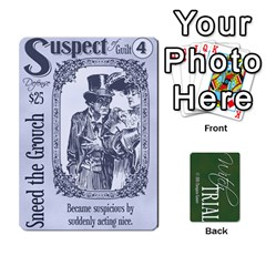 Queen Witch Trial Deck 1 By Jim Chaney   Playing Cards 54 Designs   9u2sacftsgrg   Www Artscow Com Front - SpadeQ
