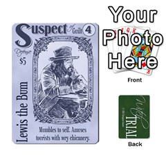 King Witch Trial Deck 1 By Jim Chaney   Playing Cards 54 Designs   9u2sacftsgrg   Www Artscow Com Front - SpadeK
