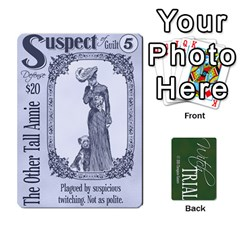 Witch Trial Deck 1 By Jim Chaney   Playing Cards 54 Designs   9u2sacftsgrg   Www Artscow Com Front - Heart4