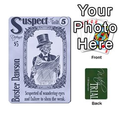 Witch Trial Deck 1 By Jim Chaney   Playing Cards 54 Designs   9u2sacftsgrg   Www Artscow Com Front - Heart5