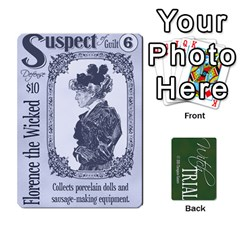 Witch Trial Deck 1 By Jim Chaney   Playing Cards 54 Designs   9u2sacftsgrg   Www Artscow Com Front - Heart8