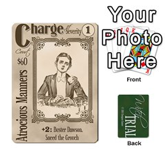 Queen Witch Trial Deck 1 By Jim Chaney   Playing Cards 54 Designs   9u2sacftsgrg   Www Artscow Com Front - HeartQ