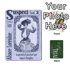 Witch Trial Deck 1 By Jim Chaney   Playing Cards 54 Designs   9u2sacftsgrg   Www Artscow Com Front - Spade5