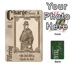 Witch Trial Deck 1 By Jim Chaney   Playing Cards 54 Designs   9u2sacftsgrg   Www Artscow Com Front - Diamond8