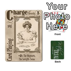 Witch Trial Deck 1 By Jim Chaney   Playing Cards 54 Designs   9u2sacftsgrg   Www Artscow Com Front - Diamond9
