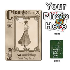 Witch Trial Deck 1 By Jim Chaney   Playing Cards 54 Designs   9u2sacftsgrg   Www Artscow Com Front - Diamond10