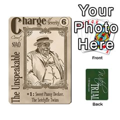 Witch Trial Deck 1 By Jim Chaney   Playing Cards 54 Designs   9u2sacftsgrg   Www Artscow Com Front - Club4