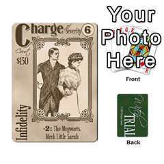 Witch Trial Deck 1 By Jim Chaney   Playing Cards 54 Designs   9u2sacftsgrg   Www Artscow Com Front - Club6