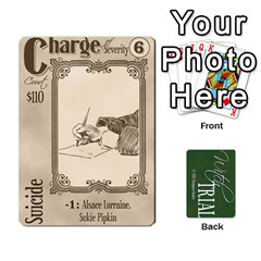 Witch Trial Deck 1 By Jim Chaney   Playing Cards 54 Designs   9u2sacftsgrg   Www Artscow Com Front - Club7