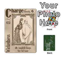 Witch Trial Deck 1 By Jim Chaney   Playing Cards 54 Designs   9u2sacftsgrg   Www Artscow Com Front - Club8