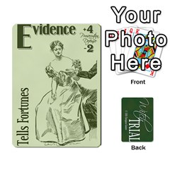 Queen Witch Trial Deck 1 By Jim Chaney   Playing Cards 54 Designs   9u2sacftsgrg   Www Artscow Com Front - ClubQ
