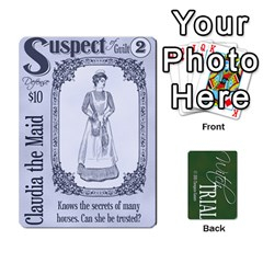 Witch Trial Deck 1 By Jim Chaney   Playing Cards 54 Designs   9u2sacftsgrg   Www Artscow Com Front - Spade7