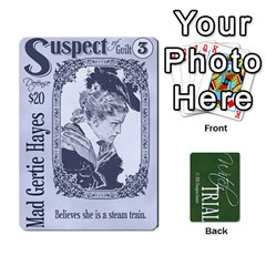 Jack Witch Trial Deck 1 By Jim Chaney   Playing Cards 54 Designs   9u2sacftsgrg   Www Artscow Com Front - SpadeJ