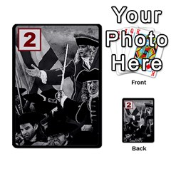 Engarde By Pixatintes   Multi Purpose Cards (rectangle)   Ixw3grfoh4bq   Www Artscow Com Front 9