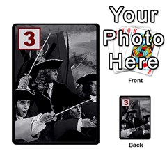 Engarde By Pixatintes   Multi Purpose Cards (rectangle)   Ixw3grfoh4bq   Www Artscow Com Front 15