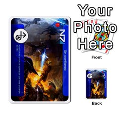 Engarde By Pixatintes   Multi Purpose Cards (rectangle)   Ixw3grfoh4bq   Www Artscow Com Front 46