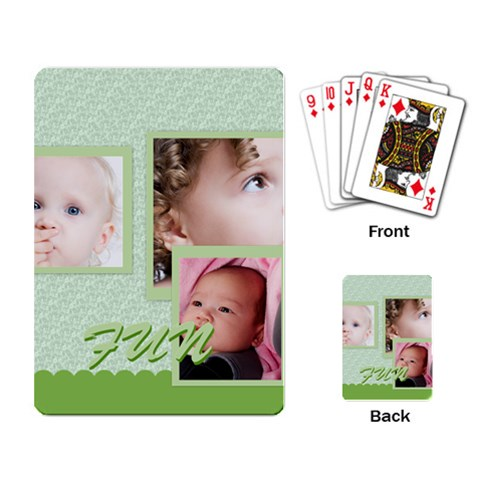 Kids, Fun, Child, Play, Happy By Mac Book   Playing Cards Single Design   F0thpb489kd8   Www Artscow Com Back