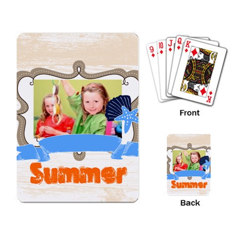 Kids, Fun, Child, Play, Happy By Mac Book   Playing Cards Single Design   9fbtna8d631e   Www Artscow Com Back