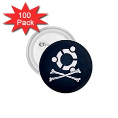 Ubuntu Bone 100 Pack Small Button (round) by CreateYourOwnGift