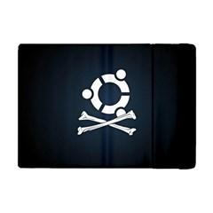 Ubuntu Bone Apple Ipad Mini Flip Case by CreateYourOwnGift