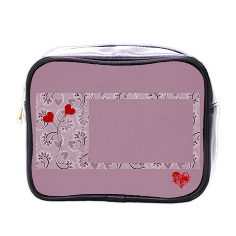 Mini Toiletries Bag (one Side) By Deca   Mini Toiletries Bag (one Side)   Lqdzimyub1me   Www Artscow Com Front