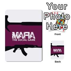 Mafia By Tim Weaver   Multi Purpose Cards (rectangle)   Lzwv2z3txa7c   Www Artscow Com Back 8