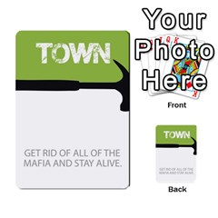 Mafia By Tim Weaver   Multi Purpose Cards (rectangle)   Lzwv2z3txa7c   Www Artscow Com Front 24