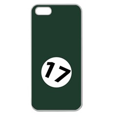 British Racing Green Apple Seamless Iphone 5 Case (clear) by PocketRacers